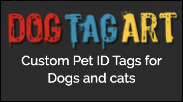 Dog Tag Art Square