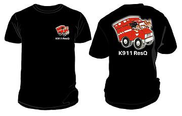K911 ResQ T-Shirts