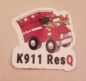 k911-sticker